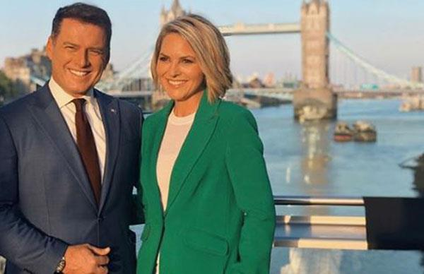 Georgie Gardner and Karl Stefanovic