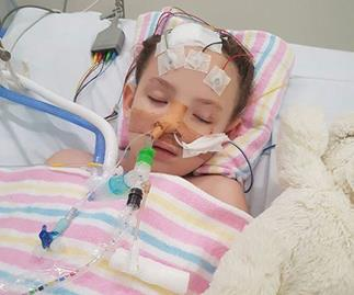 Medical miracle: Girl, 6, walks after being declared 99.8% brain dead