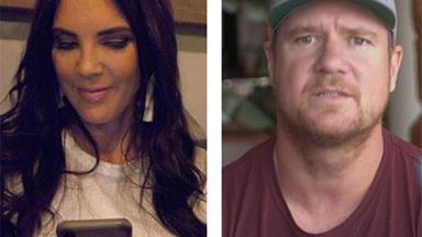 """Did Dean Wells leak private drunken texts from """"ex"""" Tracey Jewel?"""