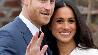 Here comes the bride! Meghan Markle and Prince Harry arrive in Windsor ahead of royal wedding
