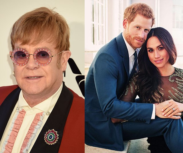 CONFIRMED: Elton John to perform at the Royal Wedding