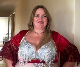 sue belly dancer