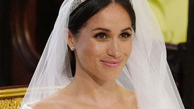 Meghan Markle's tiara is an heirloom piece and so stunning