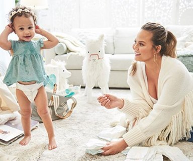Chrissy Teigen and John Legend's little boy's name is as cute as this very first picture of him!