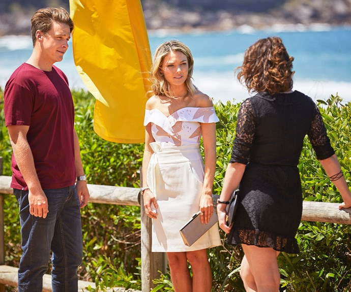 Home and Away's Jasmine, Colby and Ebony