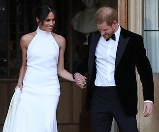 Meghan Markle broke Royal protocol at wedding reception