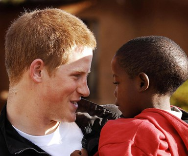 Our hearts! Prince Harry invited an African orphan he met over a decade ago to the royal wedding