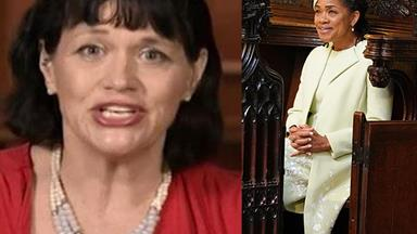 "Meghan's half sister Samantha Markle accuses Doria Ragland of ""cashing in"" on the royal wedding"