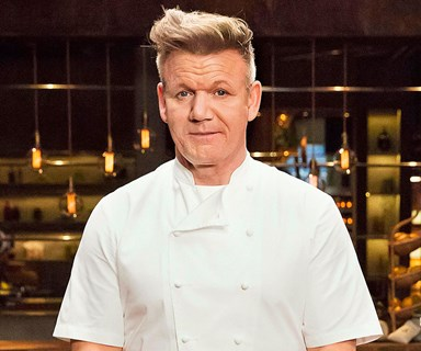 Gordon Ramsay on his first ever appearance on MasterChef Australia