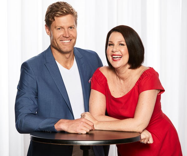 Looks like Julia Morris and Dr. Chris Brown are set to host a new variety show on TEN