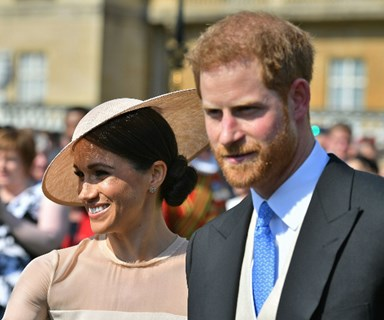 On cloud nine! Prince Harry and Meghan Markle attend their first event as husband and wife three days after the royal wedding