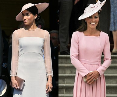 Meghan Markle models Garden Party look after Duchess Kate's, as she transforms into a royal