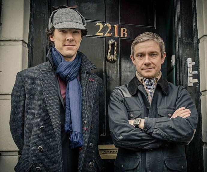 Benedict Cumberbatch and Mark Gatiss tease Sherlock's 'new adventure'