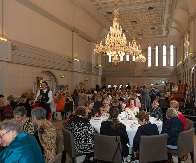 Australian Women's Weekly readers gather together for a royal high tea
