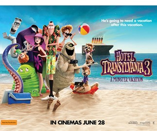 Win a family pass to see Hotel Transylvania 3: A Monster Vacation