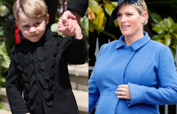 Prince George, Zara Tindall