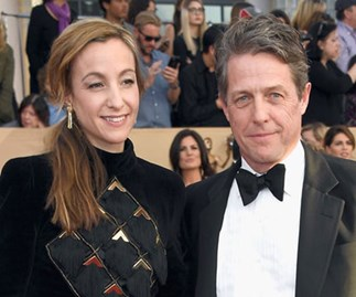 Hugh Grant marries his longtime girlfriend Anna Eberstein in a discreet wedding ceremony