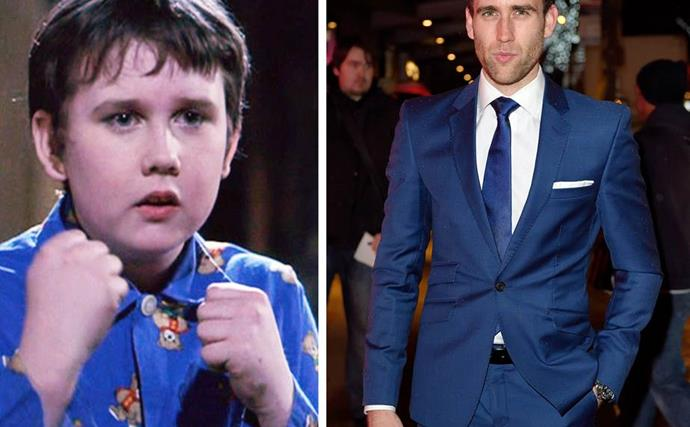 Harry Potter star Matthew Lewis just got married and we can't get over how different he looks