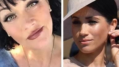 Samantha Markle insults Meghan's royal coat of arms in her daily reminder she's the wicked half-sister