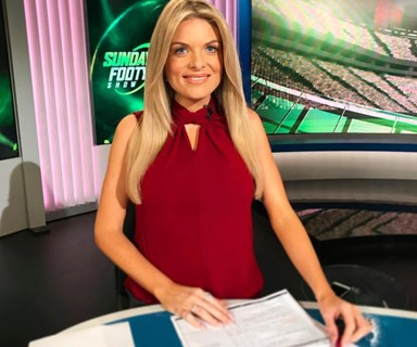 """I'm a little bit anxious"": Erin Molan reveals her biggest fear about motherhood"