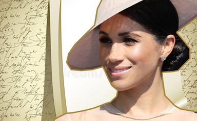 Meghan Markle's royal monogram is amazing... You hear that Samantha Markle?