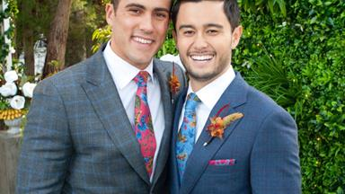 Neighbours makes history! The soap films Australian television's first same-sex wedding