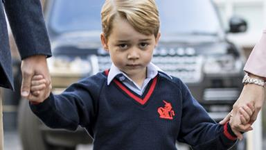 Prince George has a new obsession and he can't stop talking about it