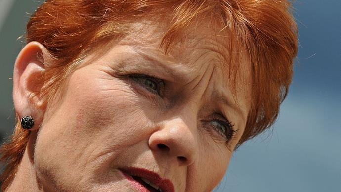 Pauline Hanson broke down in tears on national TV following rumours of a fallout with One Nation senator