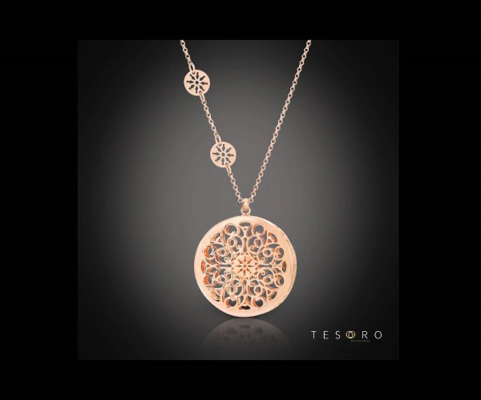 Win a Tesoro Ussita pendant necklace valued at $349.95
