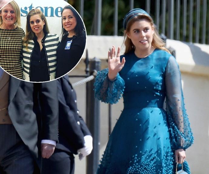 Princess Beatrice of York secretly jets into Sydney for visit to St Vincent's hospital