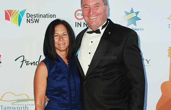Barnaby and Natalie Joyce