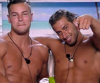 Love Island's Chris Hughes and Kem Cetinay could be heading into the Aussie villa