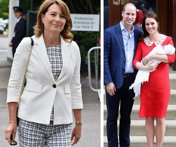Did Carole Middleton just share some very cute details about Prince Louis' christening?