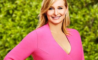 "Johanna Griggs on becoming a grandmother at 44: ""He changed my life"""