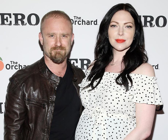 Orange is The New Black Star Laura Prepon just got married to fiancé Ben Foster