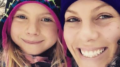 So, what? She's a little ROCKSTAR! Pink's daughter Willow officially has the coolest hair out there