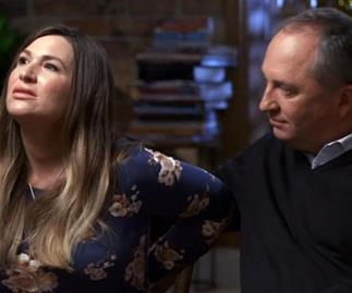Vikki Campion Barnaby Joyce interview body language