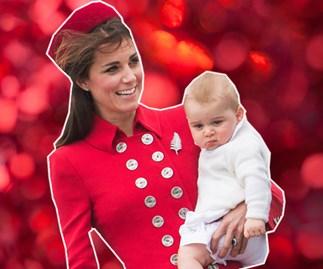 Duchess Catherine, Prince George