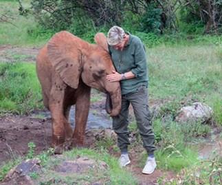 Ellen DeGeneres and Portia de Rossi celebrate Ellen's 60th birthday in Africa