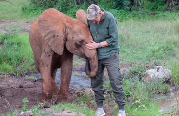 Ellen DeGeneres and Portia de Rossi celebrate Ellen's 60th birthday in Africa