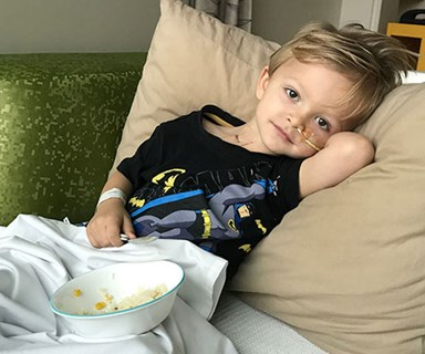"""How could FIVE doctors have missed this?"" Three-year-old's rare form of cancer misdiagnosed as a virus"