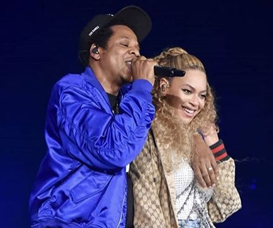 Beyonce reveals rare photos of her twins Rumi and Sir during concert with Jay Z