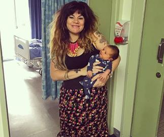 """""""I'm proud of it:"""" Constance Hall hits back at comments on her post-baby body"""