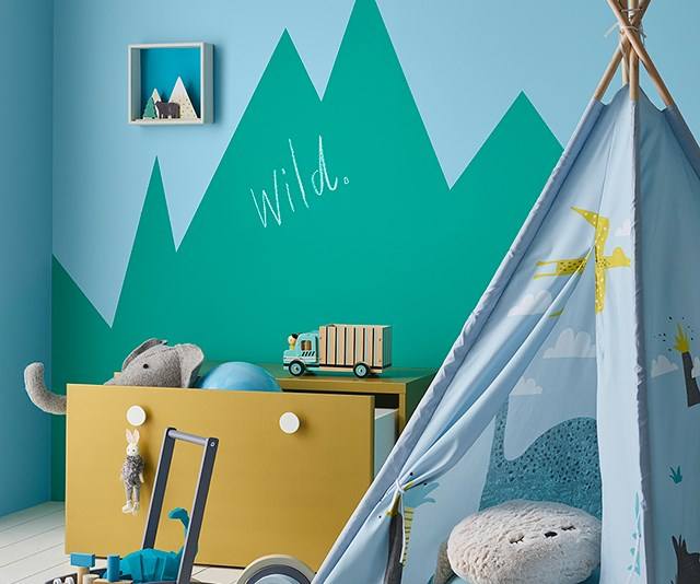 Dulux playroom photo