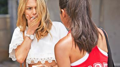 Jasmine faces the brunt of Willow's rage on Home and Away