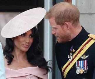 "Lip reader reveals Meghan Markle was ""nervous"" during Buckingham Palace balcony appearance"