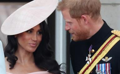 """Lip reader reveals Meghan Markle was """"nervous"""" during Buckingham Palace balcony appearance"""