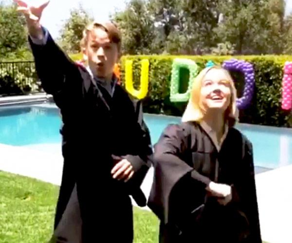 Reese Witherspoon celebrates Ava and Deacon Phillippe's graduation