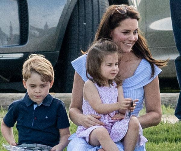 Prince George, Princess Charlotte, Duchess Catherine