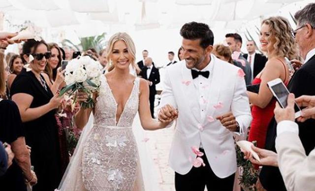 Anna Heinrich and Tim Robard's wedding